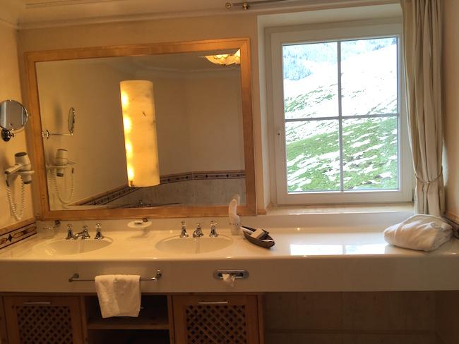 Ausblick vom Badezimmer: TOP