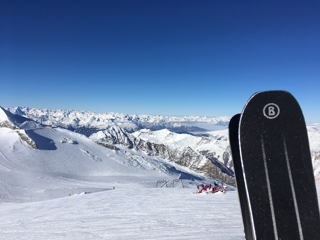 Hintertuxer Gletscher Bergpanorma