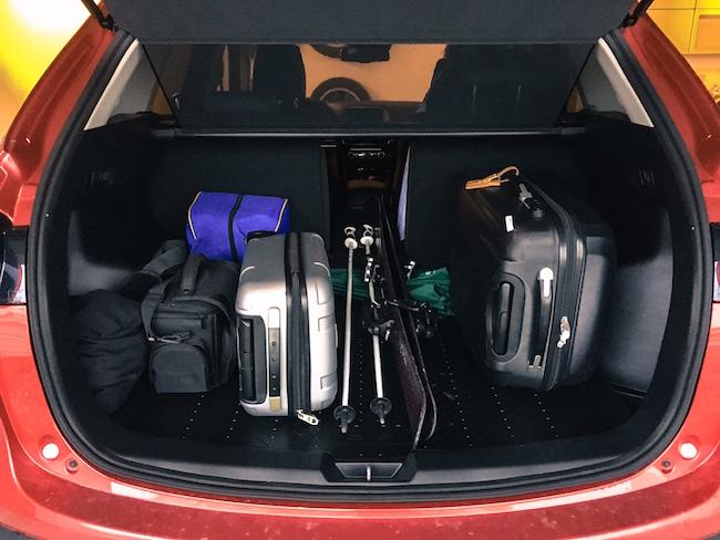 Alles Platz im Mazda CX-5