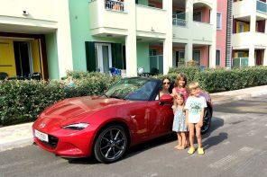 Familienurlaub mit dem Mazda MX5 Roadster! WAAAAAS?!!?