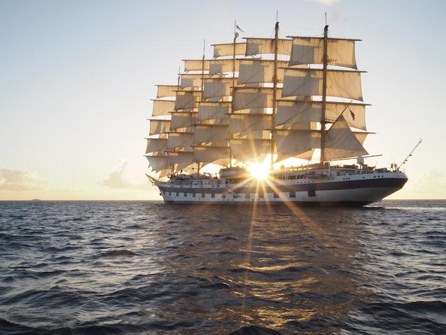Klettergurt Für Mast : Royal clipper: eine yoga kreuzfahrt unter weißen segeln