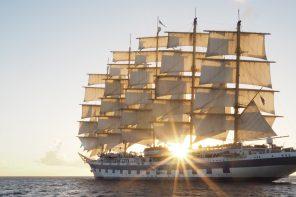 Royal Clipper: Eine Yoga Kreuzfahrt unter weißen Segeln