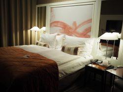 Harmonie Vienna Hotelzimmer Bett