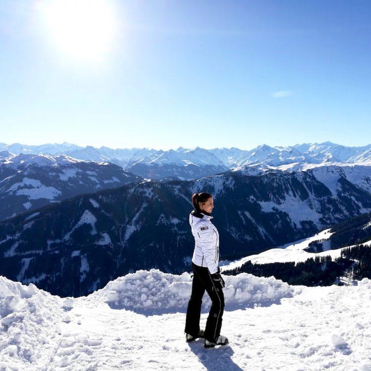 Bergpanorama Kitzbüheler Alpen