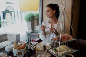Frühstück in Salzburg