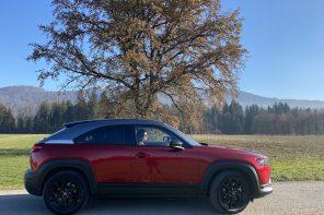 Unterwegs mit dem Mazda MX-30: vollelektrisch