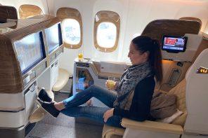 Business Class mit Emirates: Ein Testbericht